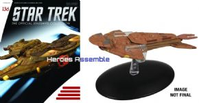 Star Trek Official Starships Collection #136 Keldon Class Eaglemoss